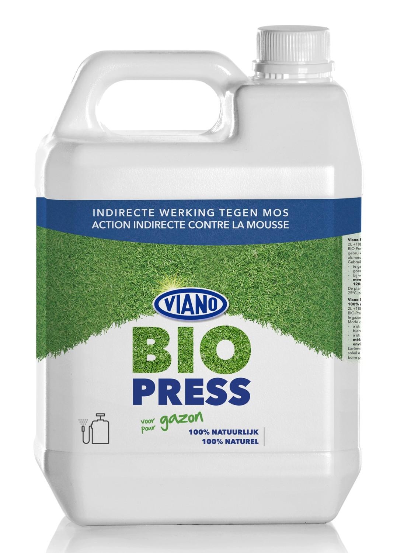 Biopress anti mos100 plantaardig 5 liter voor 600 m2