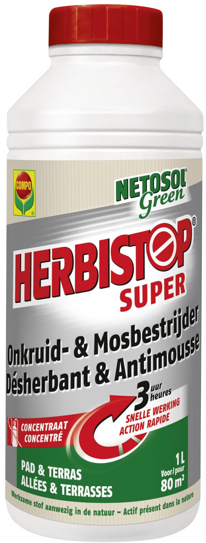 Herbistop pad en terras 1 liter 80 m2
