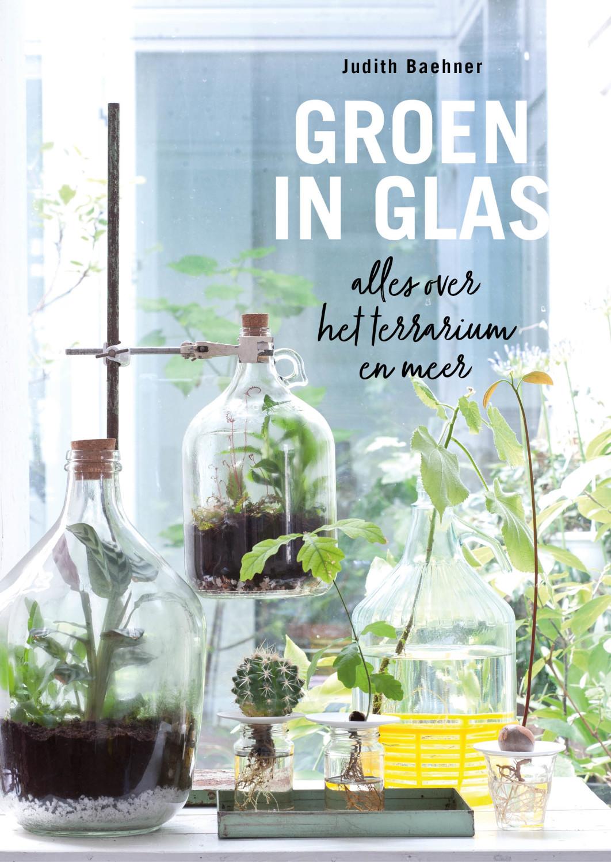 Groen in glas door Judith Baehner
