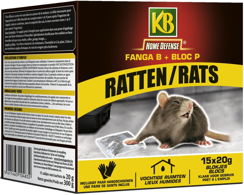 Rattengif blokjes 300 g