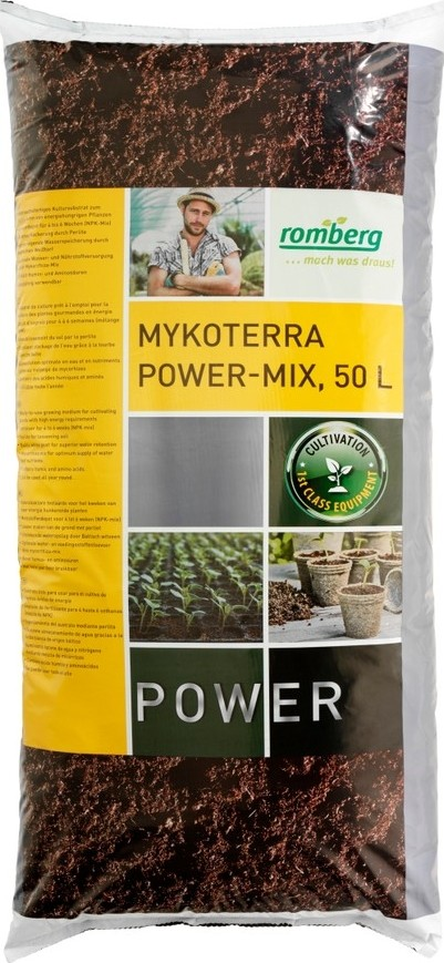 Potgrond met mycorrhiza 50L