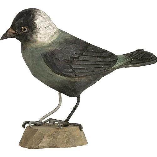 Houten vogelkauw