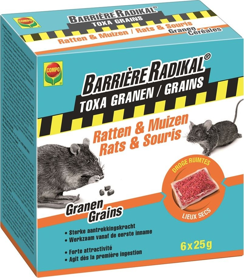 Barriere radical graantjes 6 x 25 g