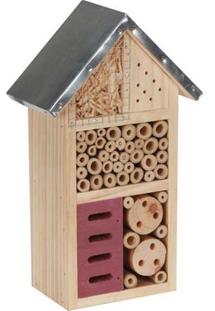 Insectenhotel bijenhuis 5 gastenkamers