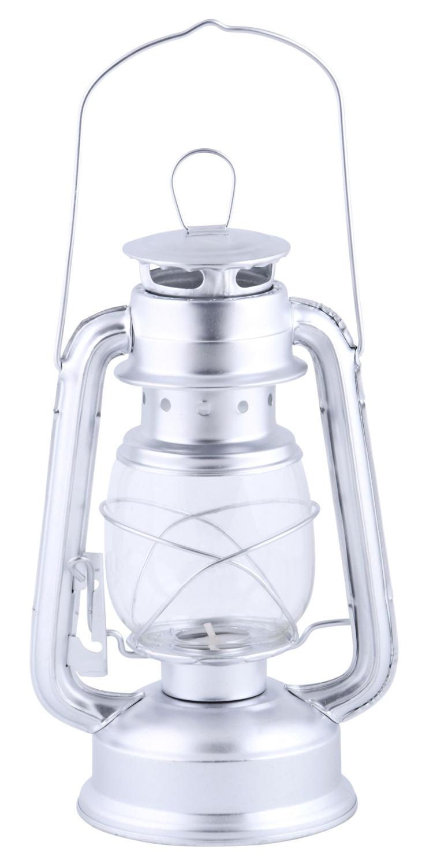 Windlicht lantaarn zilver