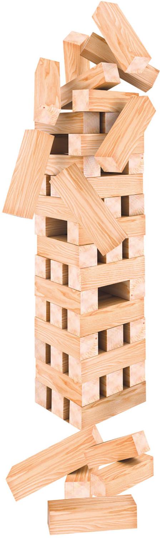 Stapeltoren hout jumbo