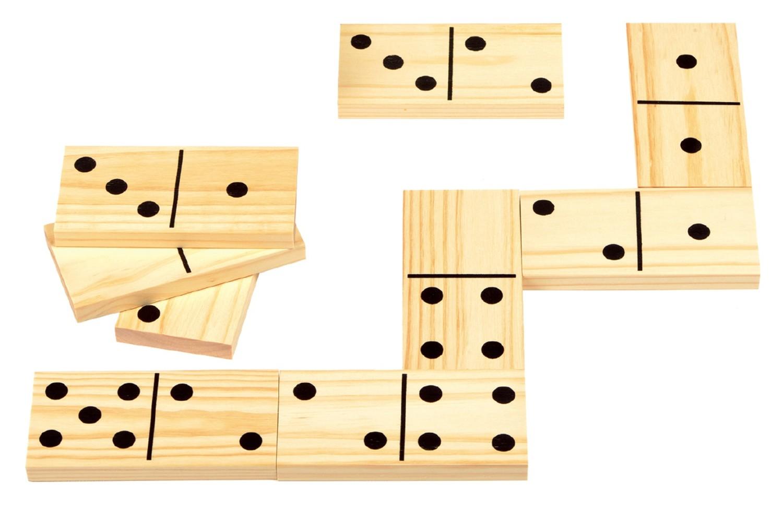 Reuzen domino hout28 stuks