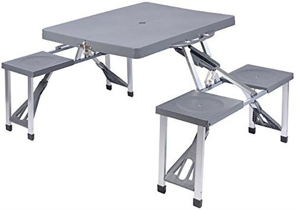 Picknicktafel vouwbaar met vier stoelen