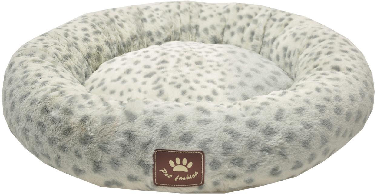 Hondenkussen DONUT SPOTTY grijswit45 cm