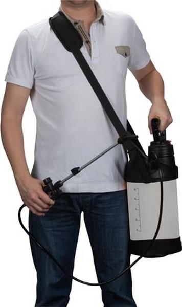 Hogedruksproeier met drukmeter 5 L