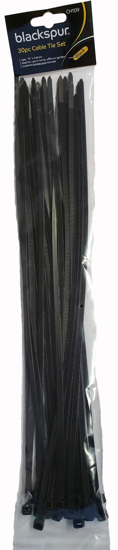 Kabelbinderszwart 38 x 048 cm