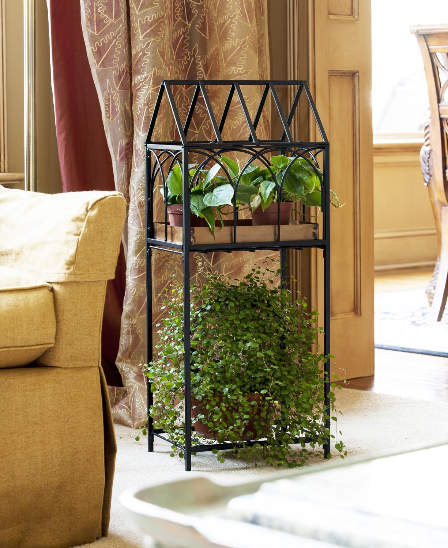 Plantenrek Maison met standaard zwart