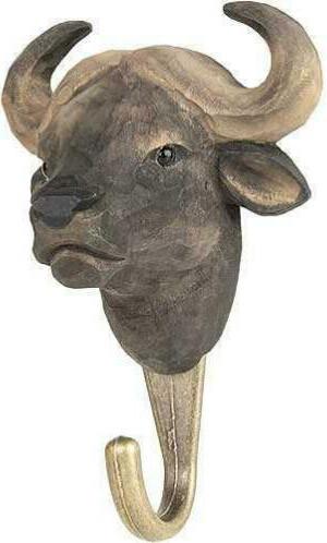 Ophanghaak Afrikaanse buffel hout