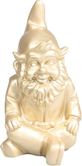 Stoobz kabouter zit goud