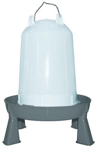 Drinkbak pluimvee op poten 10 liter
