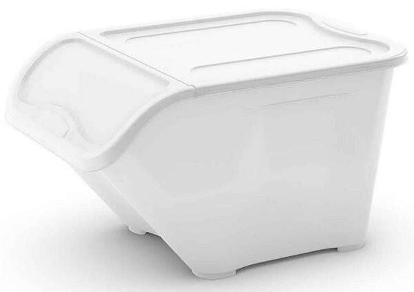 Stapelbare opbergbox H 32 cm