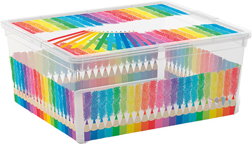 Opbergbox Arty Colours 18 liter
