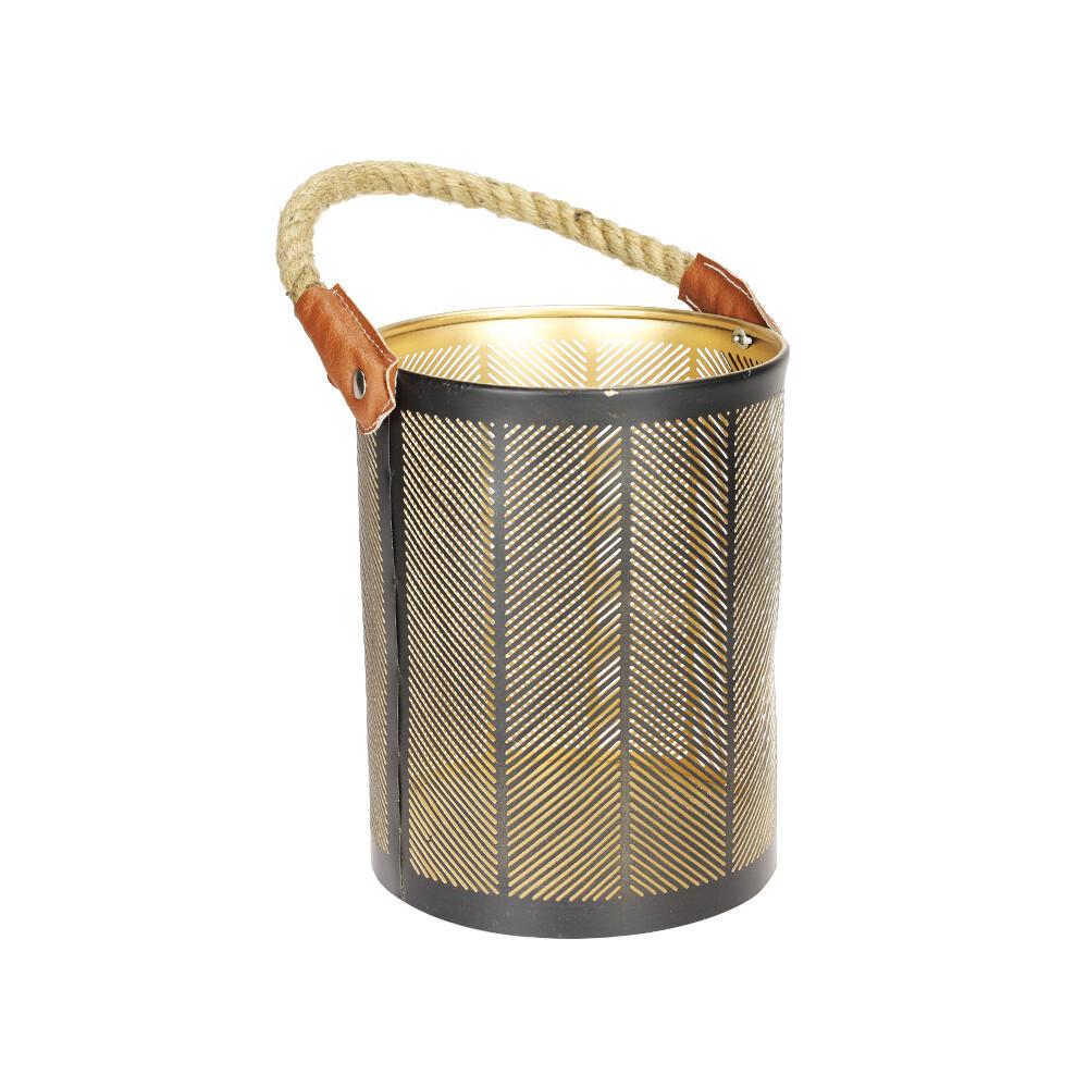 Lantaarn visgraatmotief 30 x 20 cm