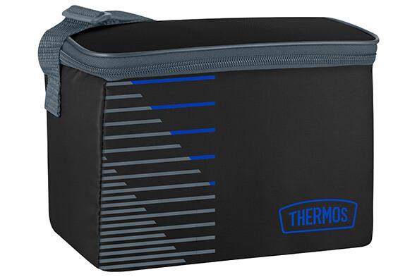 Koeltas zwartblauw 4 liter Thermos