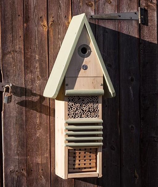 Vogel en insectenhotel met lichte schade online kopen