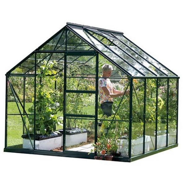 Kweekkas Neptunes AllinONE tuinbouwglas groen 6700 670 m2