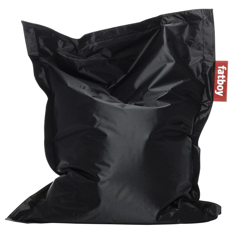 Zitzak Fatboy junior zwart 130 X 100 cm