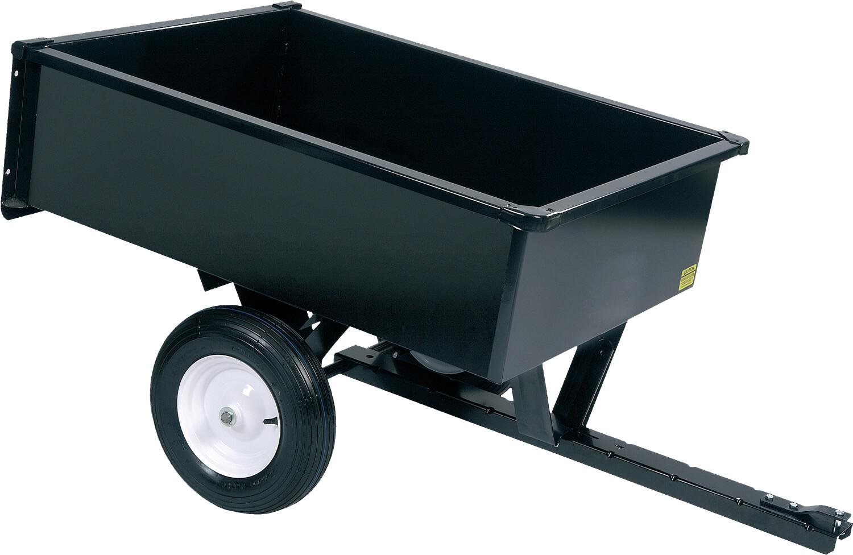 Aanhangwagen met kipbak LDT1002 TURFMASTER