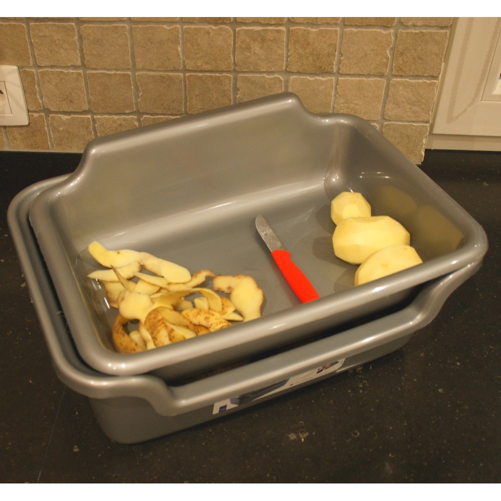 Aardappel opbergbox en schilbak 2 in 1