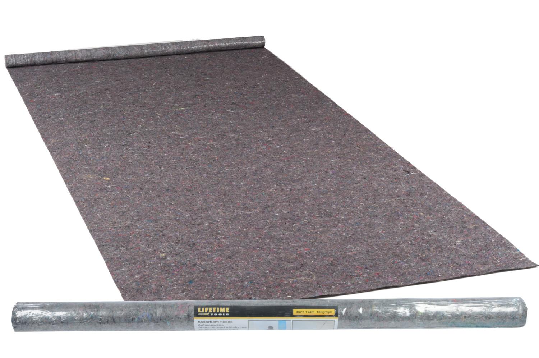 Vloerbescherming absorberend 1 x 4 m