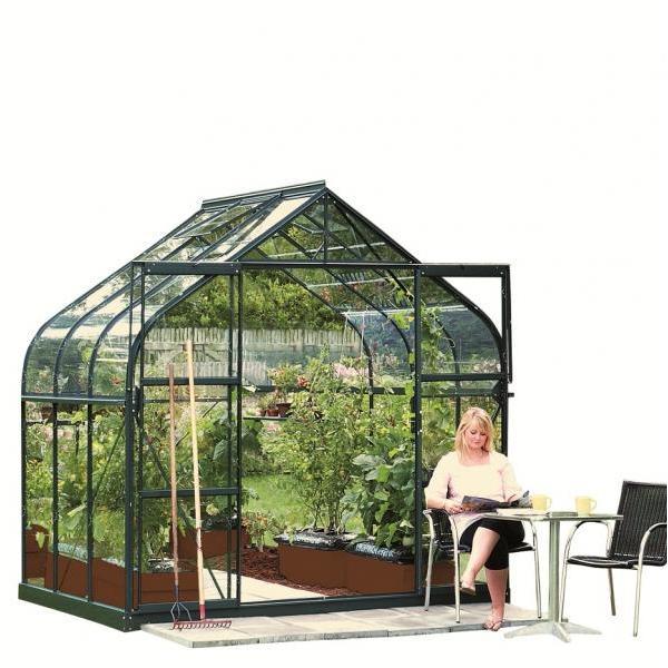 Saturn 5000groene tuinkas 5 m2 met gratis snelbouwfundering