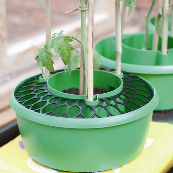 Afdekrasters voor plant gietpotten