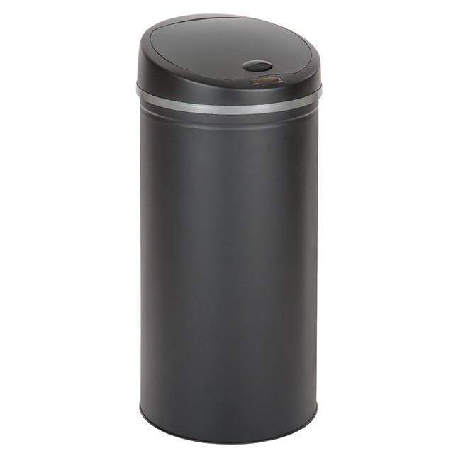 Afvalemmer Sensormat zwart 50 liter