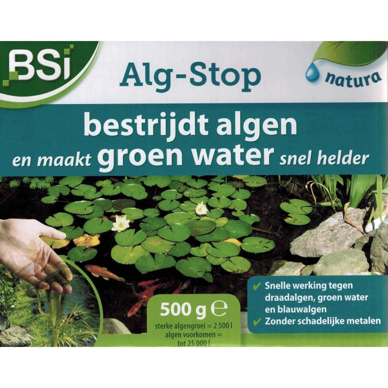 Algstop bestrijdt algen en maakt groen water helder500 g