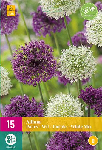Allium PaarsWit Mixsierui