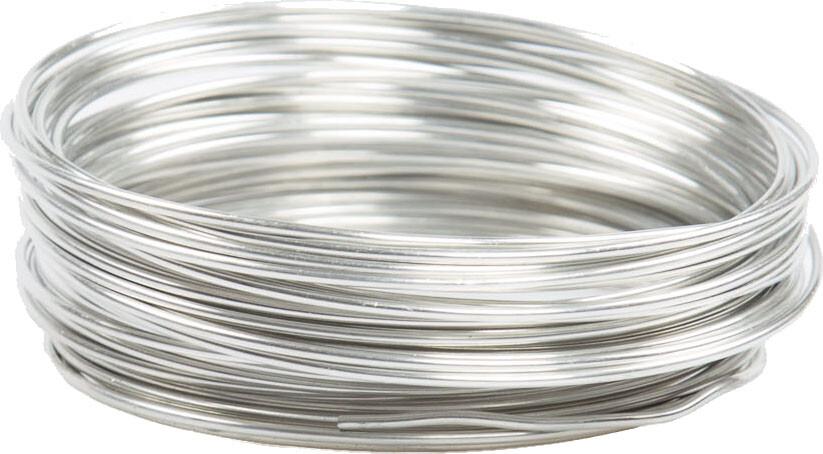 Aluminiumdraad 2 mm ZILVER