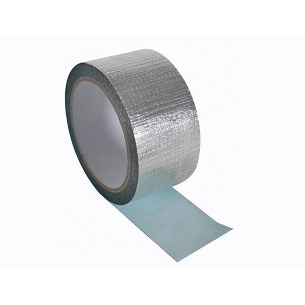 Aluminiumtape versterkt50 mm x 10 m