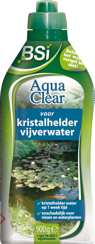 Aqua clear voor kristalhelder vijverwater900 g