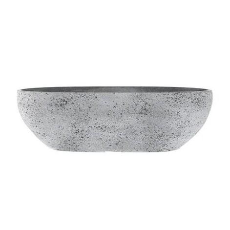 Bloembak Nova betongrijs 55 x 16 x 17 cm