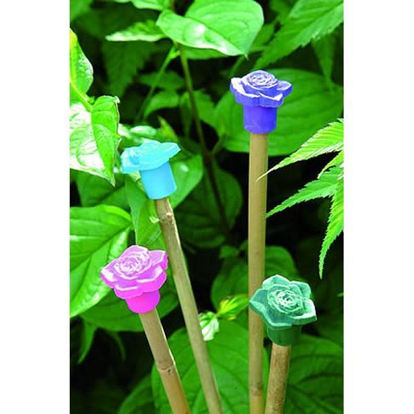 Fleurige bamboestokdopjes