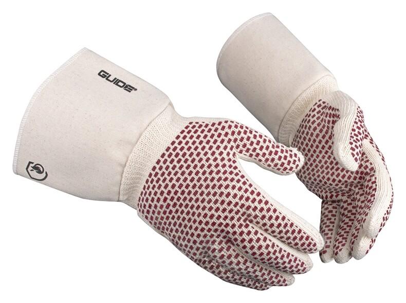 Barbecue handschoenen Guide katoen hittebestendig maat 10