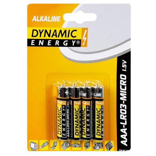Batterij AAA alkaline