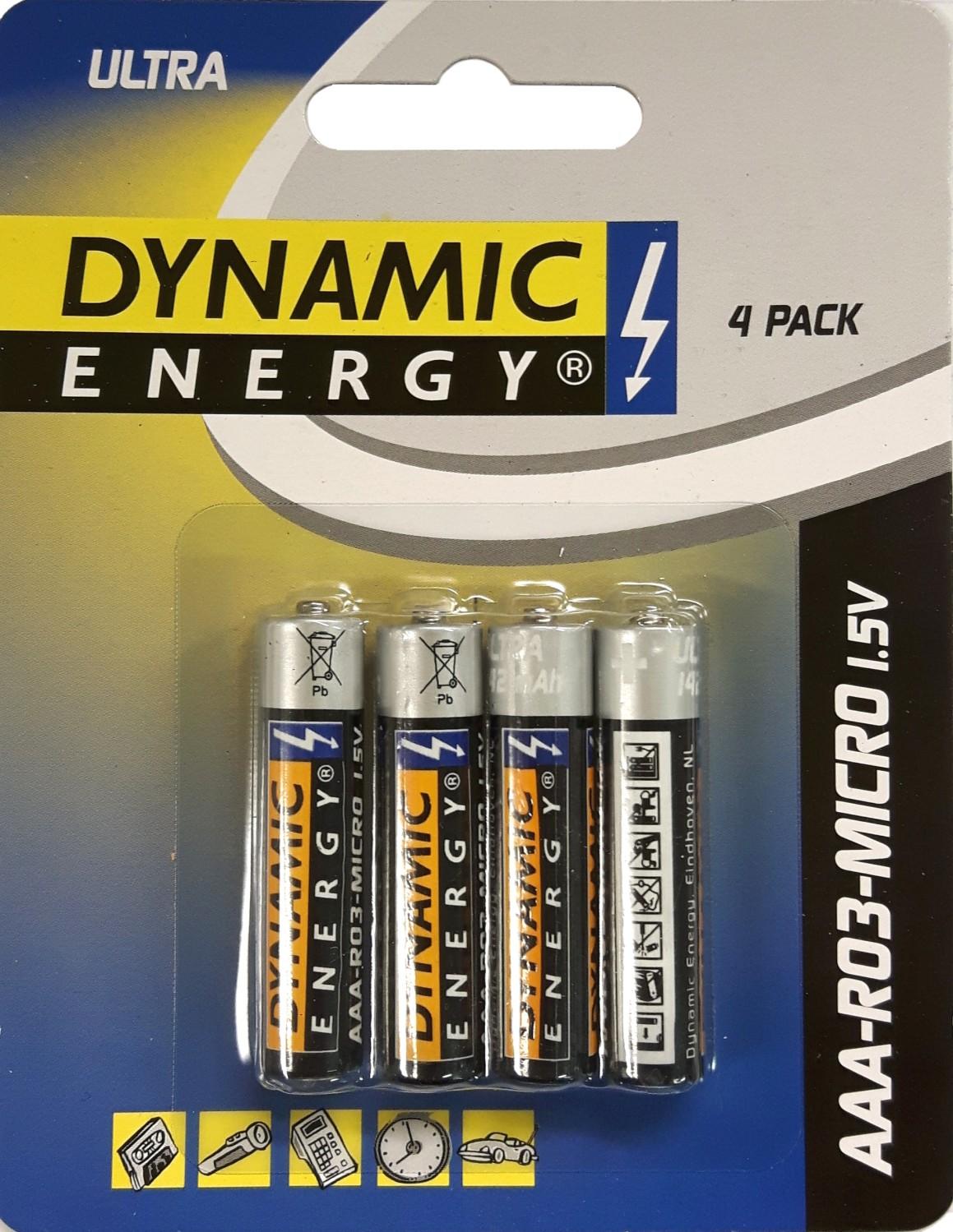 Batterij AAA zinkDynamic Energy