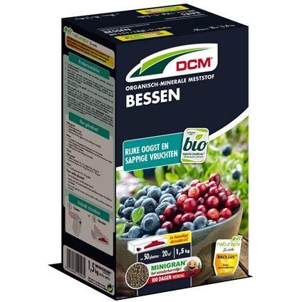 Bessen meststof DCM BIO15 kg