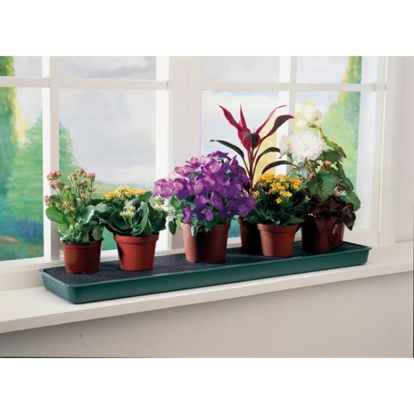 Bewateringstray voor op de vensterbank ca 75 x 17 x 4 cm