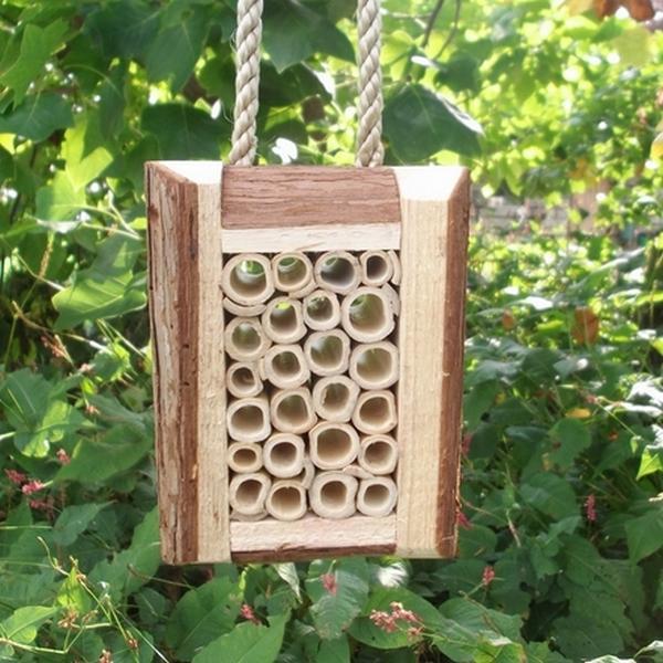 Solitaire bijenblok hout