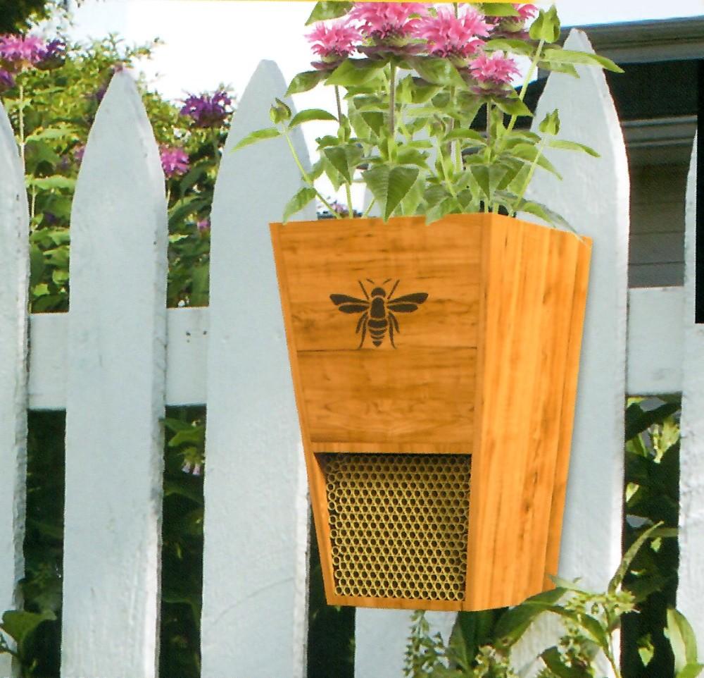 Bijenhuis en bloembak 2 in 1