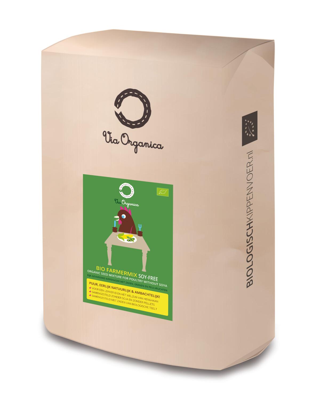 Bio Farmermix zonder soja 125 kg