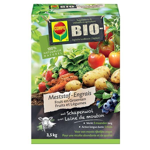 Bio meststof fruit en groenten