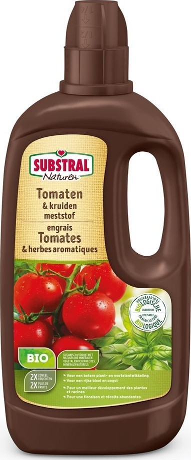 Tomaten en kruiden biomeststof 1 L