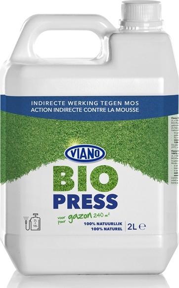 Biopress anti mos100 plantaardig 2 liter voor 240 m2